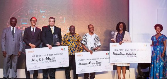 Egyptian Aly El-Shafei won the ultimate prize of $100,000 for his energy innovation at the 2017 Innovation Prize for Africa (IPA)