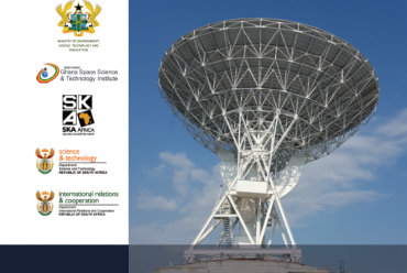 Launch of Ghana Radio Astronomy Observatory