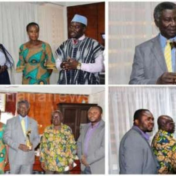 Prof Frimpong-Boateng honoured with the Pan African Award