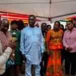 Minister and entourage at mini exhibition4