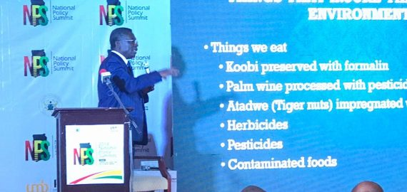 Low contribution of science, cause of underdevelopment – Professor Kwabena Frimpong-Boateng
