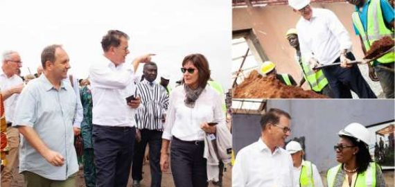 German Minister visits the Old Fadama Scrap Yard