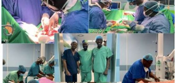 First open-heart surgery conducted successfully outside Korle-Bu